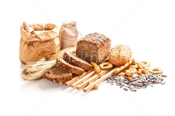 Freshly baked rye bread  Stock photo © grafvision