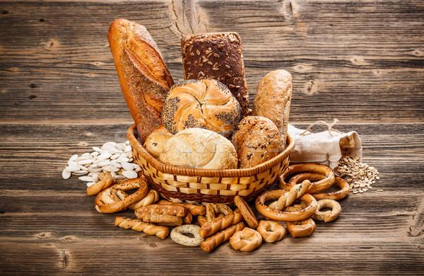 Bread and rolls Stock photo © grafvision