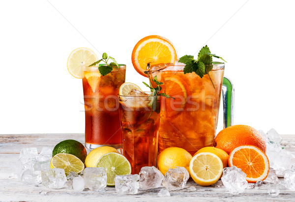 Still life of iced tea Stock photo © grafvision