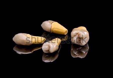Prosthetic teeth Stock photo © grafvision