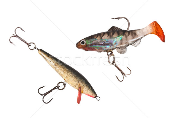 Fishing lures  Stock photo © grafvision