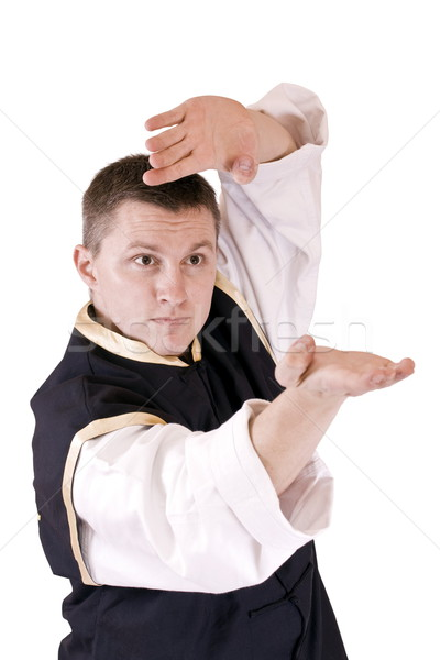 karate men  Stock photo © grafvision