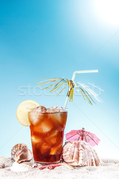 Iced sweet tea Stock photo © grafvision