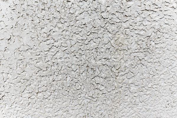 Dengesiz beyaz duvar grunge beton doku Stok fotoğraf © grafvision
