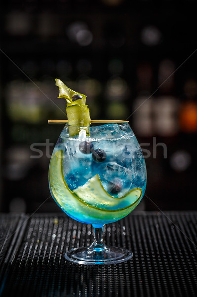 Blue gin tonic Stock photo © grafvision