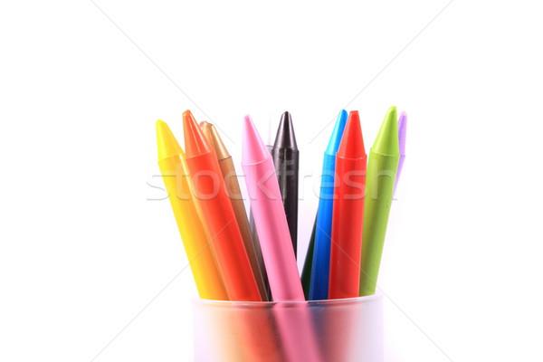 colorful chalks Stock photo © grafvision