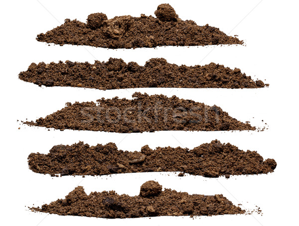 Set pile of soil  Stock photo © grafvision