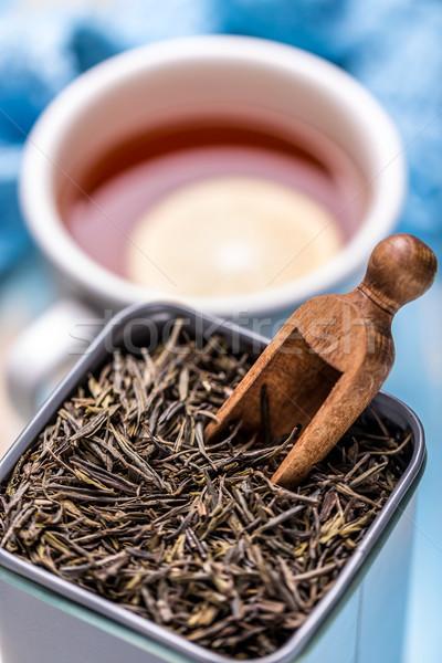 Dry tea leaves Stock photo © grafvision