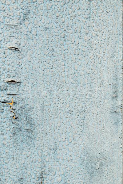 Peeling paint on weathered wood Stock photo © grafvision
