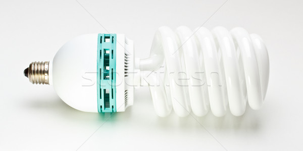 Fluorescent light bulb Stock photo © grafvision