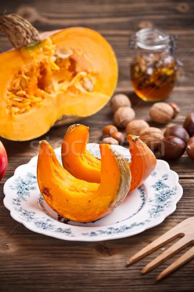 Pumpkin slices Stock photo © grafvision