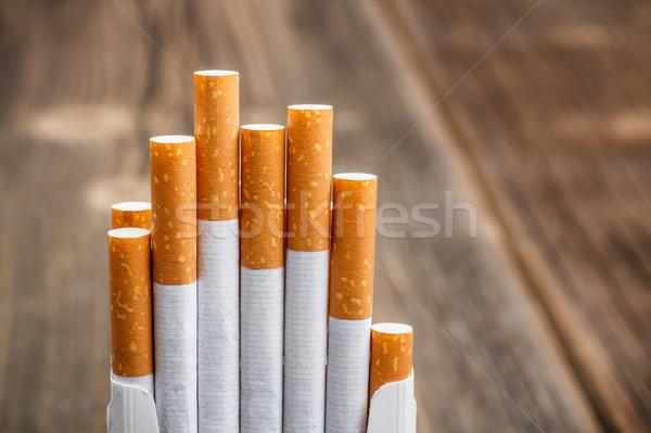 Cigarettes Stock photo © grafvision