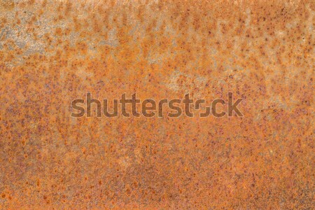 Rusted sheet of metal Stock photo © grafvision