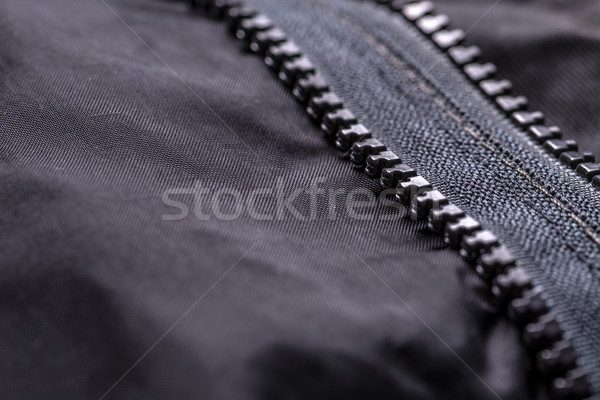 Garment coat with zipper Stock photo © grafvision