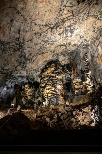 пещере Венгрия парка внутри стены природы Сток-фото © grafvision