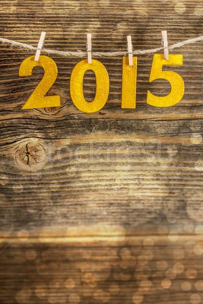 2015 golden figures Stock photo © grafvision