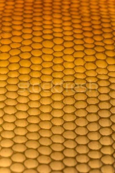 Méhsejt közelkép textúra keret arany citromsárga Stock fotó © grafvision