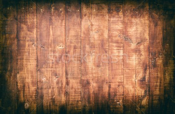 Houten haveloos oude natuurlijke hout Stockfoto © grafvision
