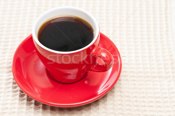 red coffee cup Stock photo © grafvision