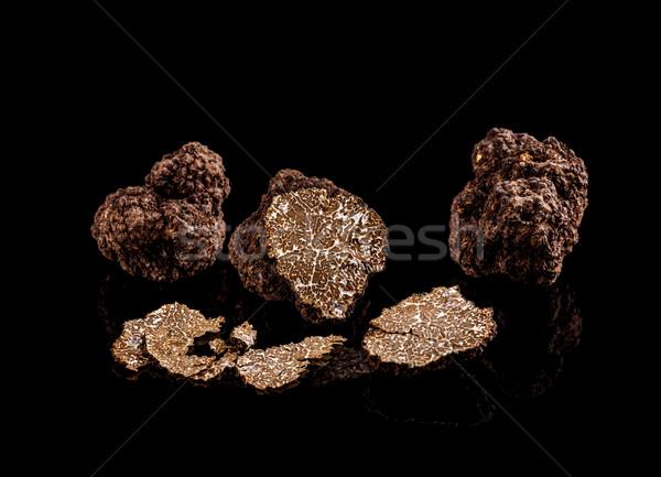 Freshly harvested truffles  Stock photo © grafvision