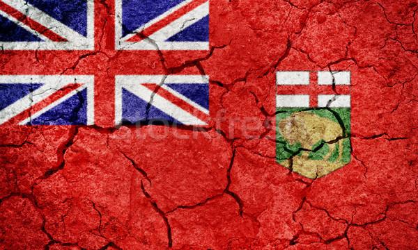 Manitoba, province of Canada, flag Stock photo © grafvision