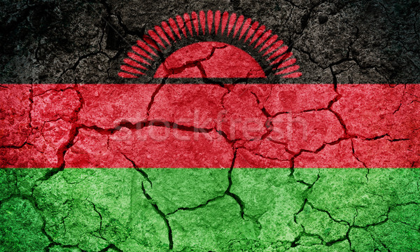 Republic of Malawi flag Stock photo © grafvision