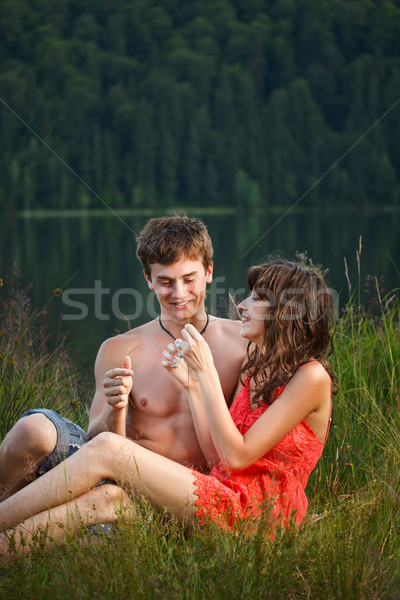 Young couple  Stock photo © grafvision