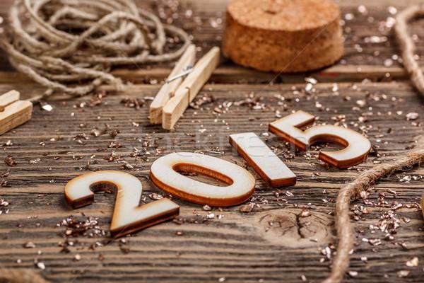 New Year 2015 Stock photo © grafvision