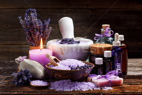 Still life with lavender Stock photo © grafvision