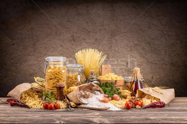 Stock photo: Pasta
