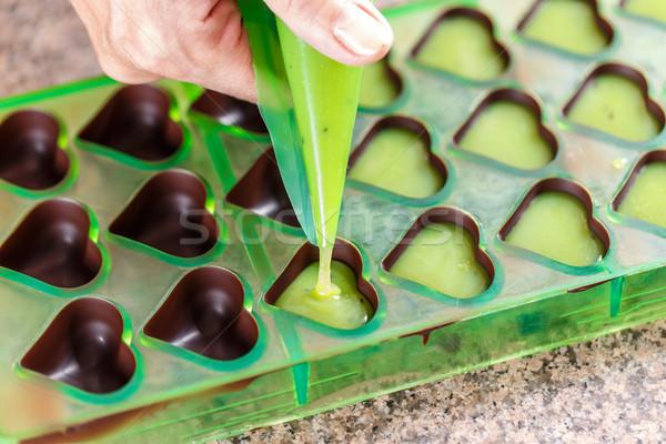 Making homemade praline Stock photo © grafvision