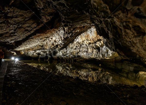 Dripstone cave  Stock photo © grafvision