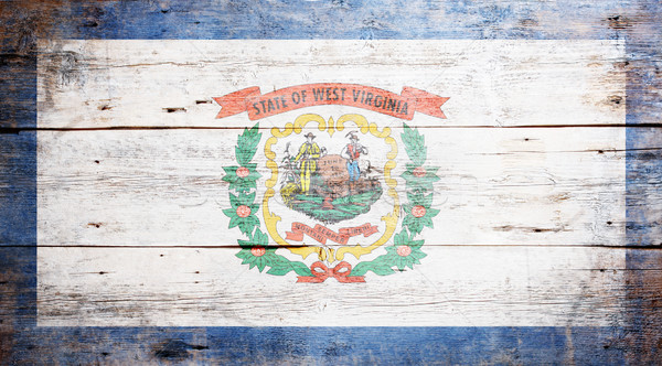 Flag of the state of West Virginia Stock photo © grafvision