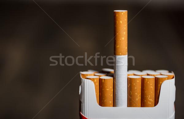 Pack of Cigarettes  Stock photo © grafvision
