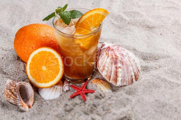 Cold ice tea Stock photo © grafvision