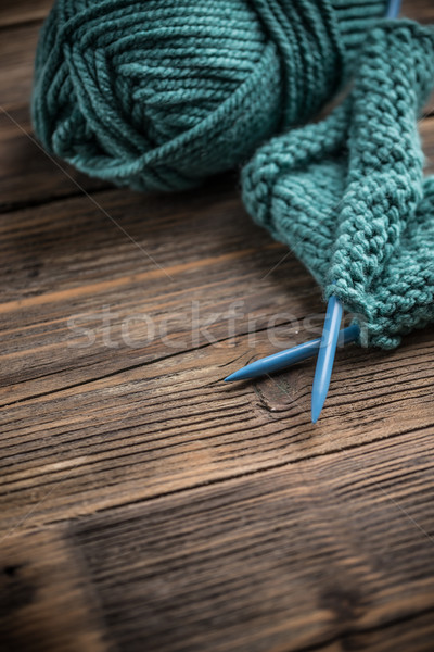 Knitting needle  Stock photo © grafvision