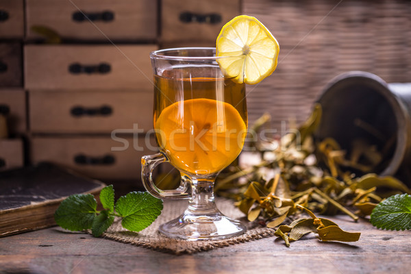 Herbal tea Stock photo © grafvision