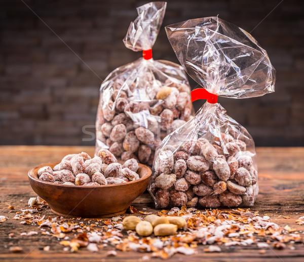 Arachide produit coup salé fond Photo stock © grafvision