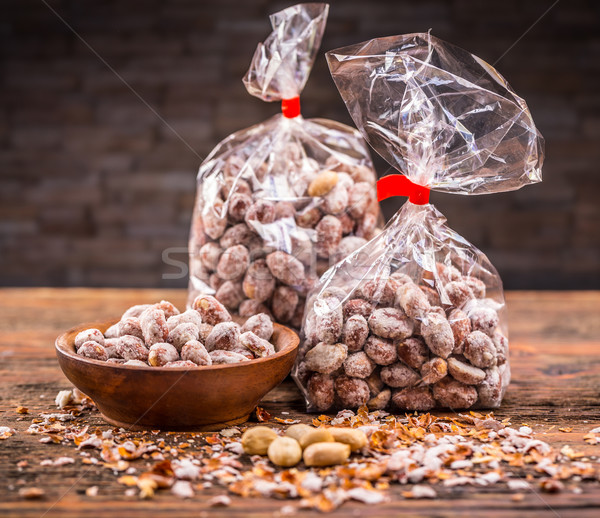 Amendoim produto tiro fundo Foto stock © grafvision