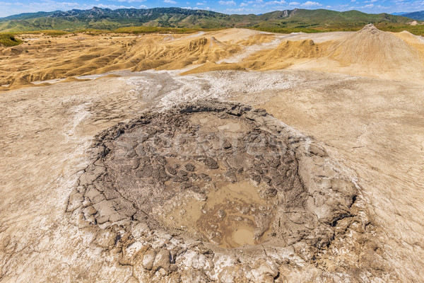 Active mud volcanoes Stock photo © grafvision