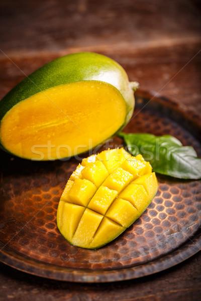 Mango slice  Stock photo © grafvision
