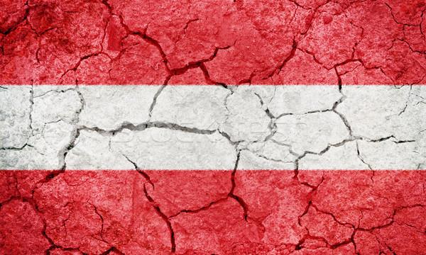 République Autriche pavillon sécher terre sol Photo stock © grafvision