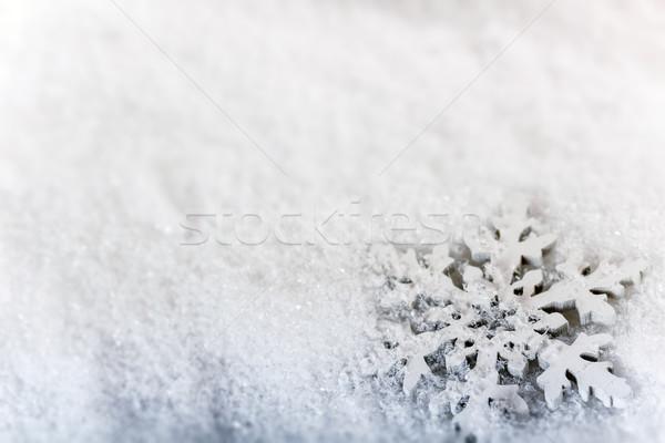 Snow background  Stock photo © grafvision