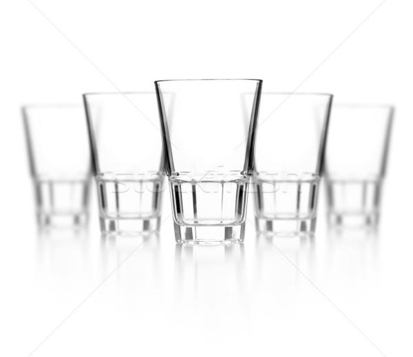 Glass of vodka Stock photo © grafvision