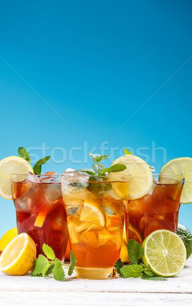 Ice tea Stock photo © grafvision