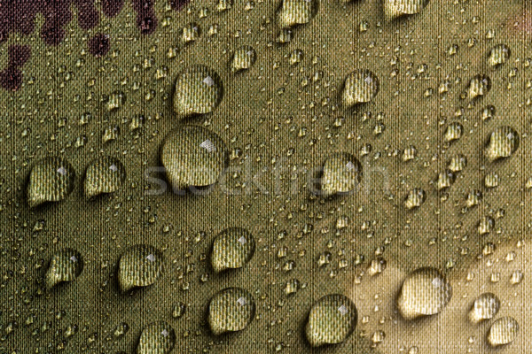 Camouflage waterproof textile Stock photo © grafvision