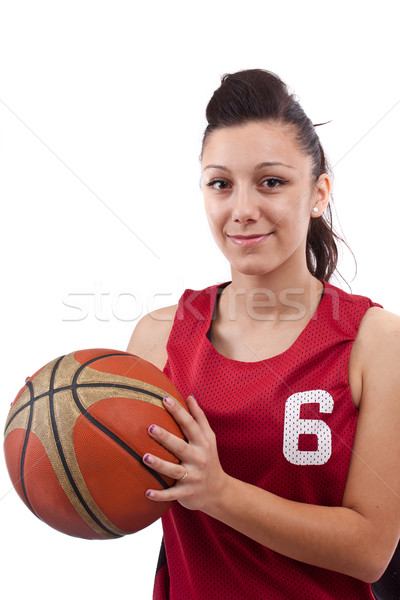 Basketball player Stock photo © grafvision