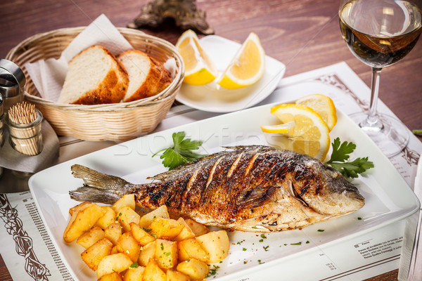 Dorado fish Stock photo © grafvision
