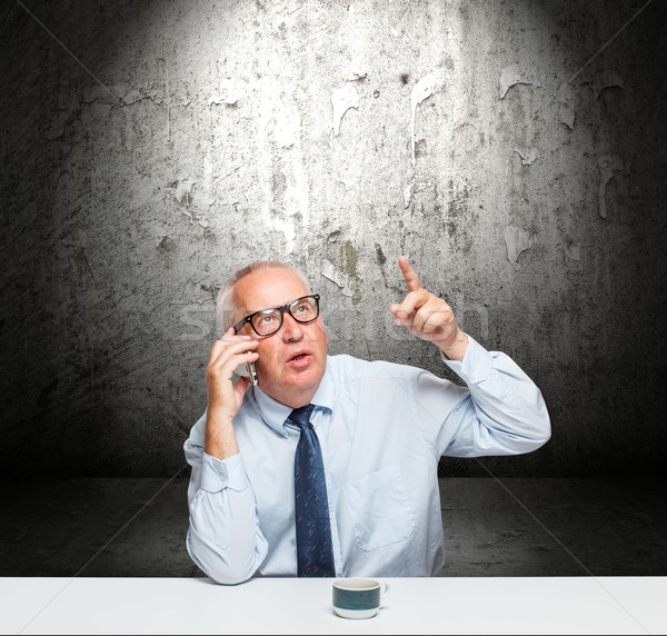 Middle-aged businessman Stock photo © grafvision