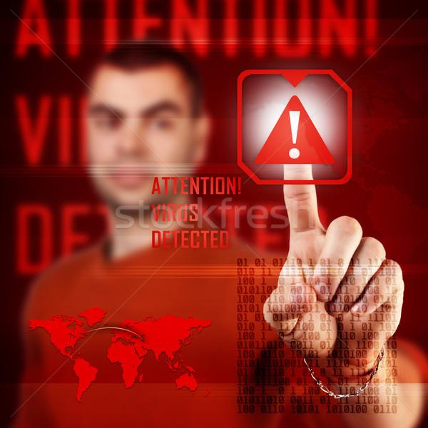 Cyber attack  Stock photo © grafvision